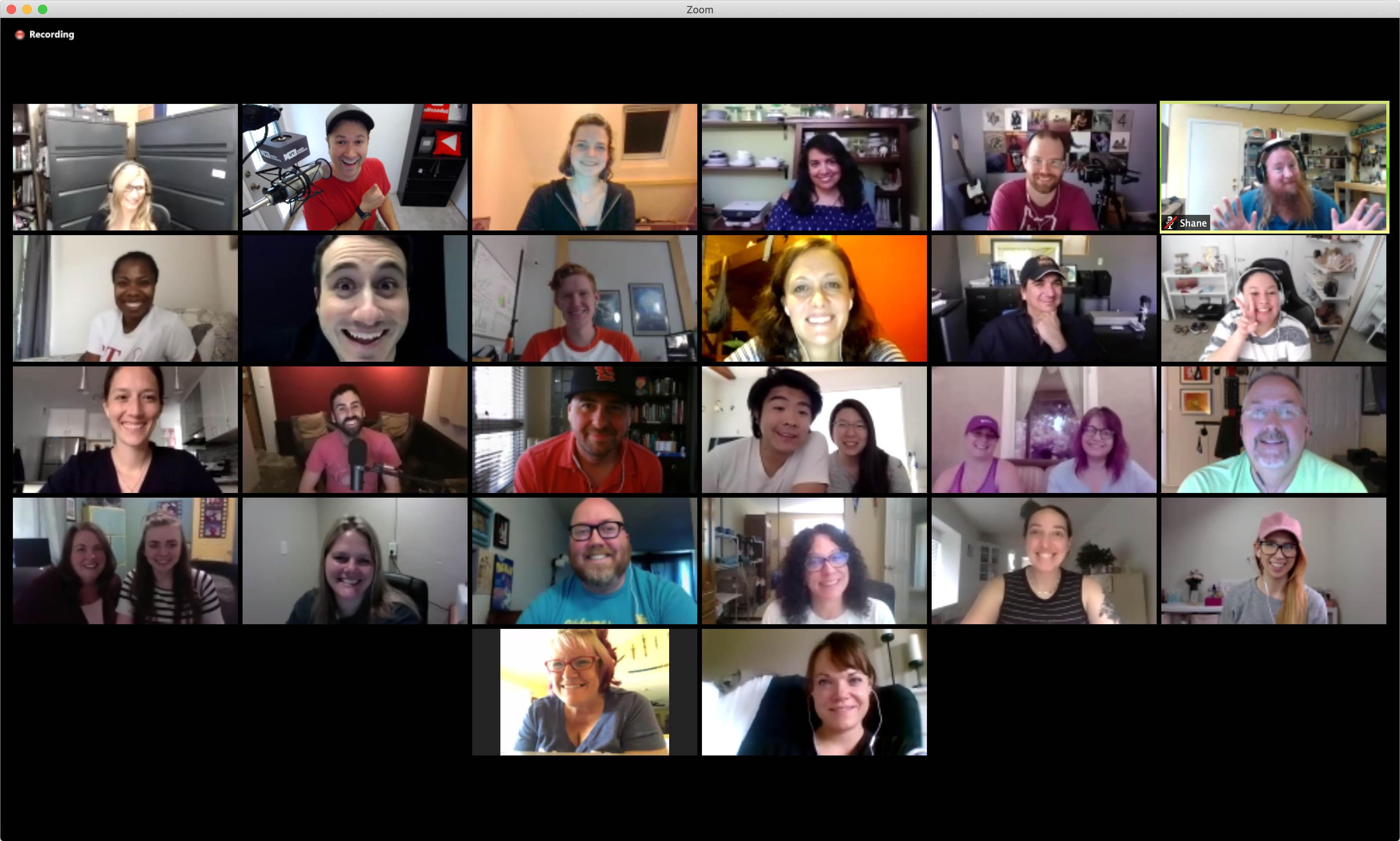 Weekly Video Meeting